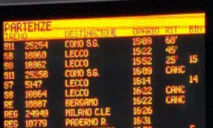 Pesanti disagi per i pendolari: treni in ritardo per il maltempo LA SITUAZIONE