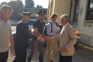 Vertice tra sindaci e forze dell'ordine per la viabilità sul Ponte di Paderno FOTO