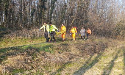 Cade in bici nel bosco, ferito un adolescente FOTO