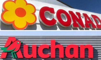 Da Auchan a Conad: chiesta la cassa per oltre 5mila lavoratori
