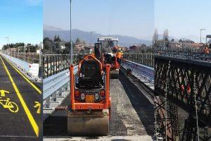 Ponte di Paderno: venerdì riapre a pedoni e bici… ma mancano le navette