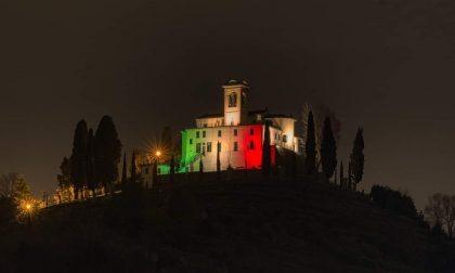 Il santuario di Montevecchia tricolore è un inno alla speranza
