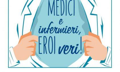 Medici e infermieri, eroi veri! Mandateci foto e messaggi via Whatsapp