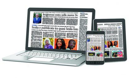 Giornale di Merate e Giornale di Lecco in versione sfogliabile online a un prezzo speciale