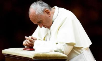 """Papa Francesco chiama il vescovo Beschi: """"Prego per voi bergamaschi"""""""