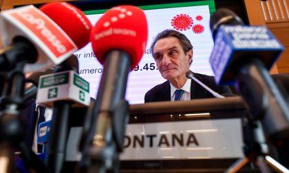 """Fontana: """"Oggi 5000 positivi in Lombardia e 350 ricoveri"""". Niente passi indietro sulla didattica a distanza alle superiori"""