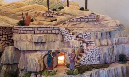Cremella: allestito in Chiesa un Presepe Pasquale - FOTO