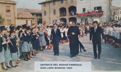Don Luigi Bianchi festeggia 35 anni da prete a Nibionno e Tabiago