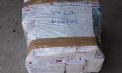 A Villa d'Adda inizia la distribuzione di mascherine