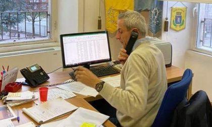 Questa mattina il sindaco di Merate risponde al telefono ai cittadini
