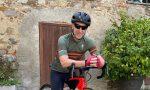 Linus dj a spasso per la Brianza in bicicletta