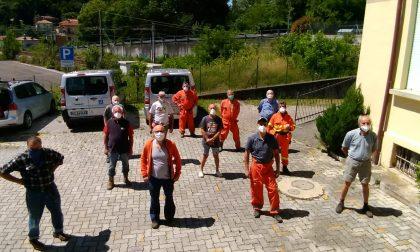 Olgiate Molgora: i volontari Avaib ripuliscono le mulattiere comunali FOTO
