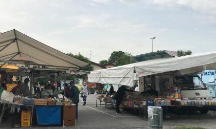 Fase 2: il mercato di Merate riapre in sicurezza FOTO