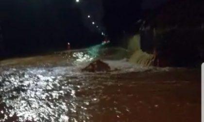Bomba d'acqua in Brianza: Arcore allagata FOTO