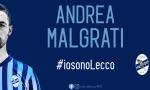 Il brianzolo Andrea Malgrati ha rinnovato con la Calcio Lecco IL VIDEO