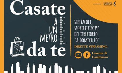 """""""Casate a un metro da te"""": il teatro e la cultura del territorio in diretta streaming"""