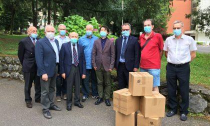 Dalla Cina duemila mascherine per le Rsa della provincia di Lecco