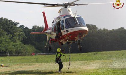 Due ragazze disperse in Grigna: individuate e salvate dai Vigili del Fuoco