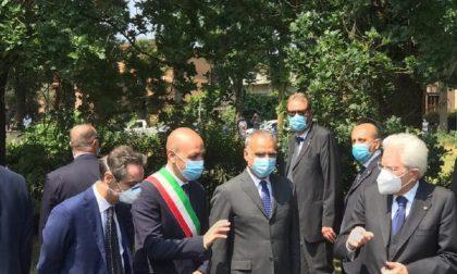 Il presidente Mattarella a Codogno per la Festa della Repubblica