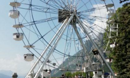 A Lecco è tornata la ruota panoramica