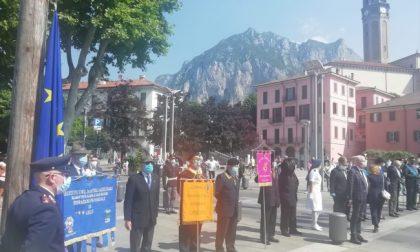 Festa della Repubblica a Lecco: discorso di Mattarella e Alzabandiera in Piazza Cermenati FOTO