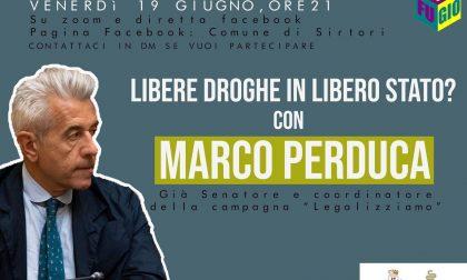 Marco Perduca incontra i giovani del gruppo Ri.Fu.Gio