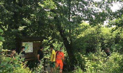 Tre ragazzini scoprono un cadavere nel lago di Sartirana. Era un anziano scomparso da qualche ora FOTO