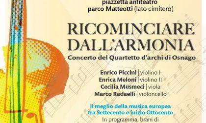 """""""Ricominciare dall'Armonia"""": un concerto per la Festa della Musica"""
