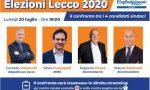 Lecco, lunedì 20 luglio il primo confronto tra i quattro candidati sindaci