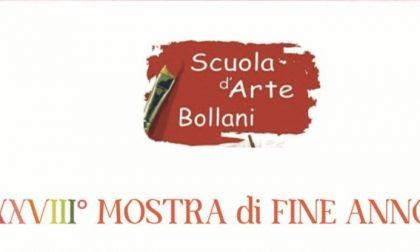 Mostra di fine anno della scuola d'arte Bollani