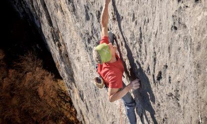 Manolo, il re dell'arrampicata libera, ospite in Brianza