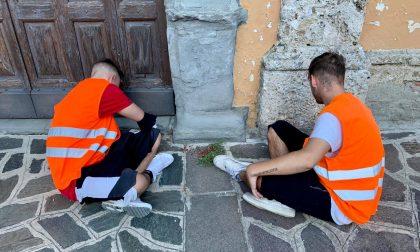 Santuario dell'Annunciata ripulito da giovani volontari FOTOGALLERY