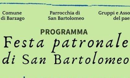 Barzago: ecco il programma della Festa Patronale di San Bartolomeo