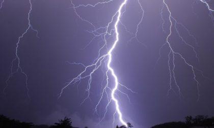 Allerta meteo per possibili temporali forti sul Lecchese e sulla Bergamasca