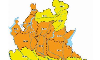 Da domani a domenica maltempo senza tregua: scatta l'allerta meteo arancione nel Lecchese