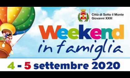 """Sotto Il Monte: torna il """"Weekend in famiglia"""""""