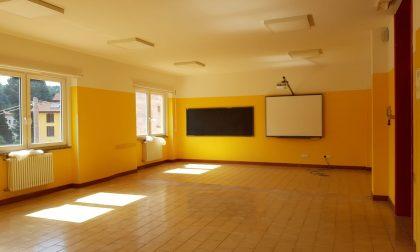 """Scuola, a Calco pronte le nuove """"aule giganti"""" anti Covid FOTO"""