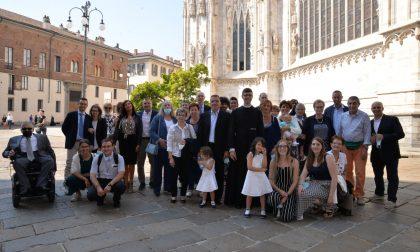 Merate in fibrillazione per la prima messa di don Riccardo Fumagalli FOTOGALLERY