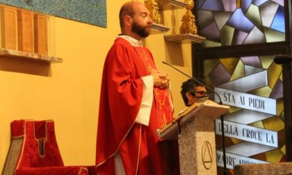 """""""Debutto"""" per don Emanuele Colombo come nuovo parroco di Olgiate FOTO"""