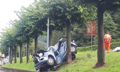 Tragedia nell'Erbese: donna si schianta contro un albero e muore FOTO