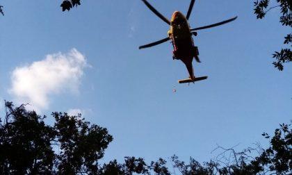 Infortuni in montagna, due interventi dell'elisoccorso in un'ora
