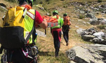 Rimane bloccato mentre cerca i funghi, 24enne recuperato dai soccorsi