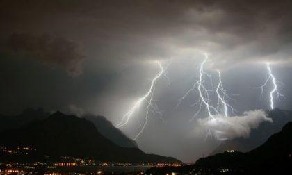 Codice giallo: domenica rischio di temporali forti nel Lecchese