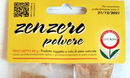 """Non c'era salmonella nello zenzero """"brianzolo"""" prodotto a Renate"""