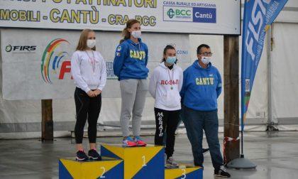 Rotellistica Roseda, Rebecca Valagussa bronzo e podio Nina Corradini in Coppa Lombardia FOTO