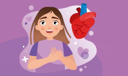 Rischio cardiovascolare femminile Synlab San Nicolò inaugura Cuore di donna