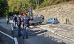 Sfonda il guard rail con l'auto e precipita da un tornante: 65enne in gravi condizioni FOTO