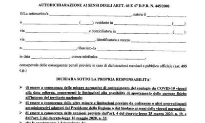 Autocertificazione Lombardia ottobre 2020: il nuovo modulo da scaricare e stampare