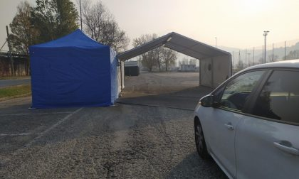 """Tamponi al Bione: operativo da domani il """"drive through"""" di Lecco"""