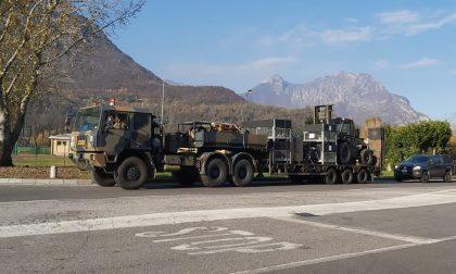 Tamponi al Bione: a Lecco è arrivato l'Esercito per allestire il punto prelievi